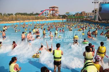 Customized Water park Wave Machine For Family Fun in Aqua Park
