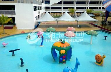 الصين Fiberglass Spray Park Fiberglass Equipment For Children / Kids Water Park Products مصنع